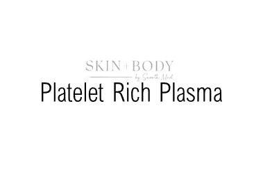 Platelet Rich Plasma (PRP) Treatments