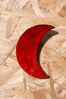 Décoration murale Lune orange