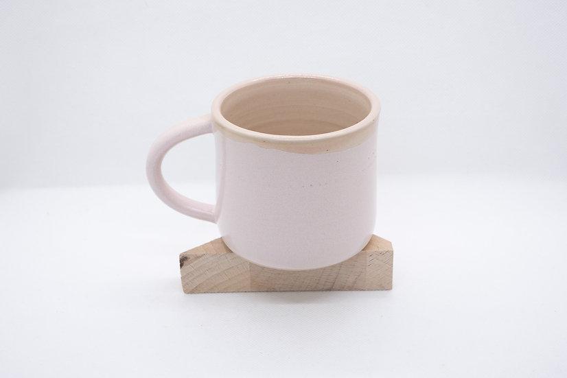 Tasse à thé, fleur de vie, rose pâle (n*2)