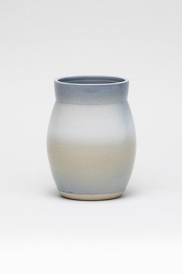 Vase fleur de vie (n°1) -pièce unique-