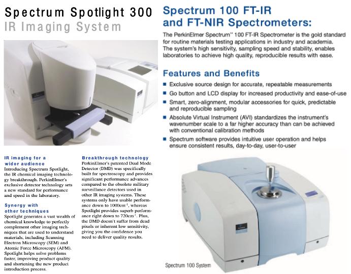 PE Spectrum 100 with Spotlight 300 Photo