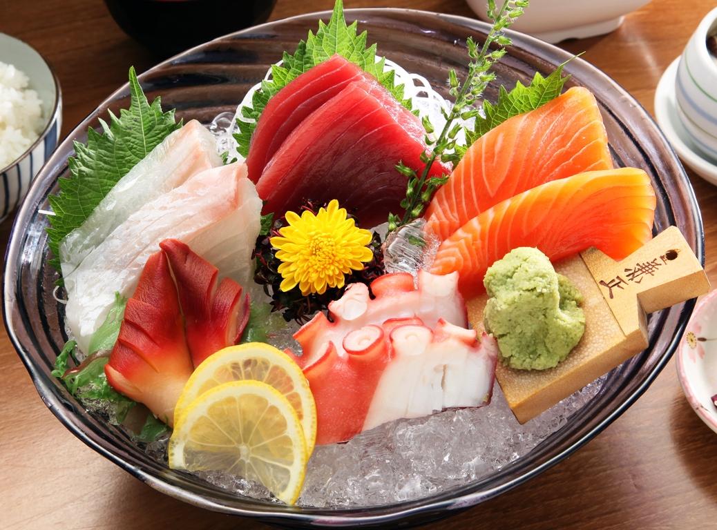 5 kind of sashimi