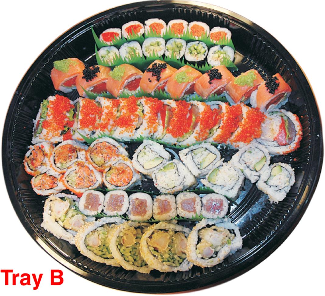 Tray b -