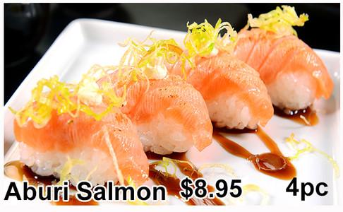 Aburi Salmon Nigiri(4PC)