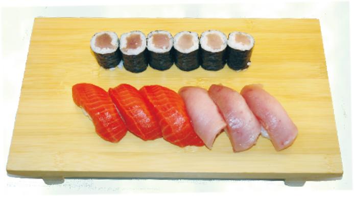 salmon&tuna combo