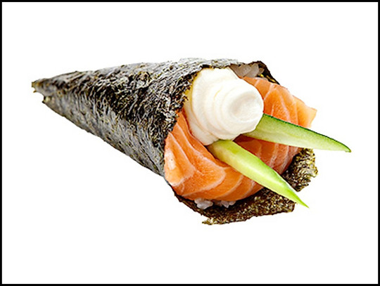 Salmon&Cream Cheese Cone