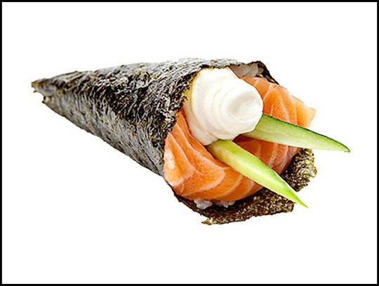Salmon&Cream Cheese Cone