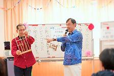 高齢者施設での音楽レクリエーション