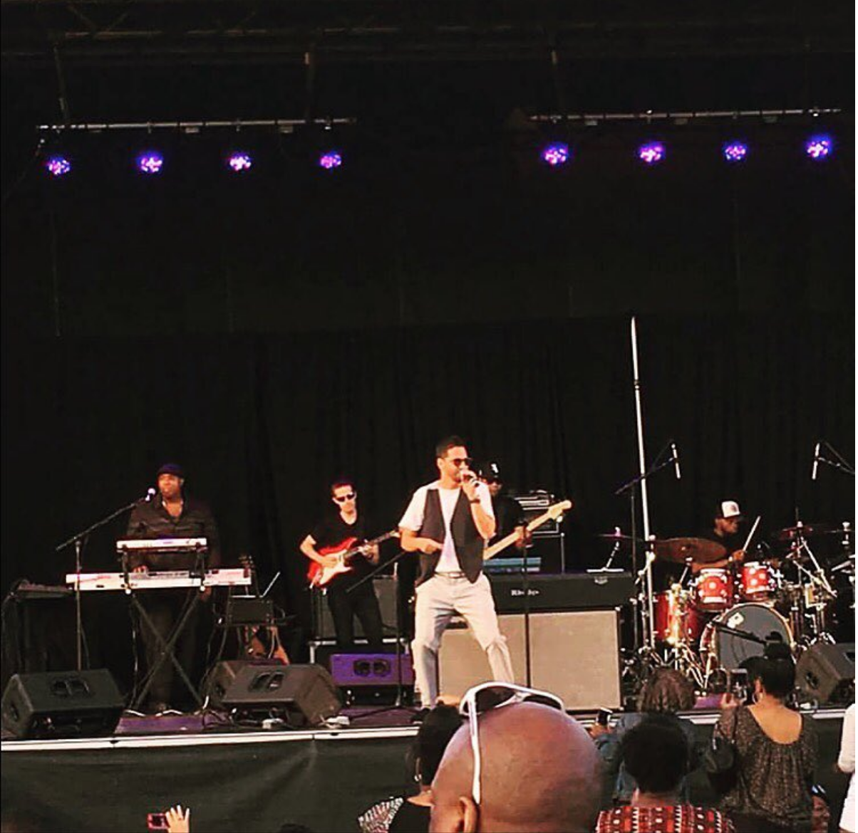 Jon B. Summer Stage