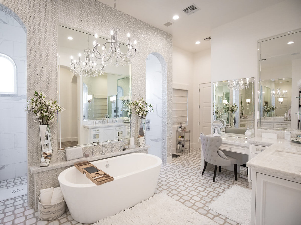 modern elegant bathroom