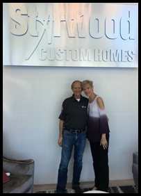 Alan and Chris Rau are excited to begin building their dream home.
