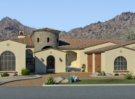A Phoenix Custom Home Hillside Design