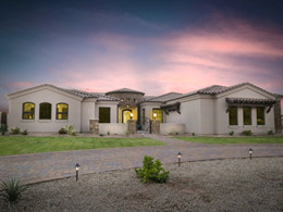 Starwood builds Arizona energy efficient custom homes.