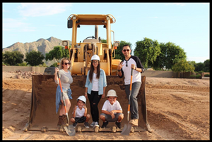 The DeSantiago family will create memories in their new custom home.