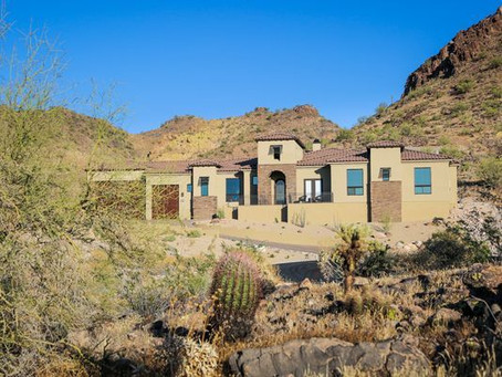 Arizona Republic Feature: Custom Dream Home Inspired By Mountain Views