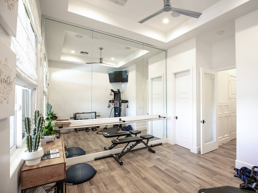 indoor workout room