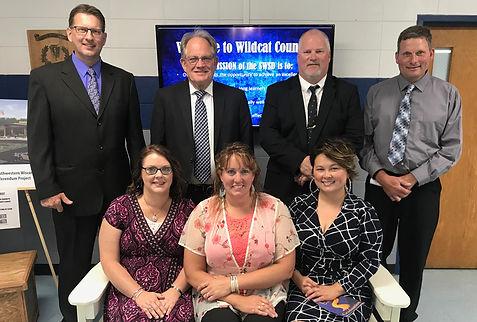 Members of the Southwestern School Board