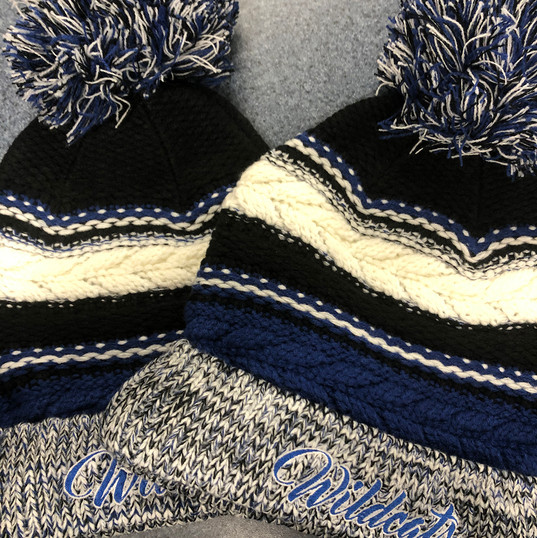 NEW! Knitted Pom Hat