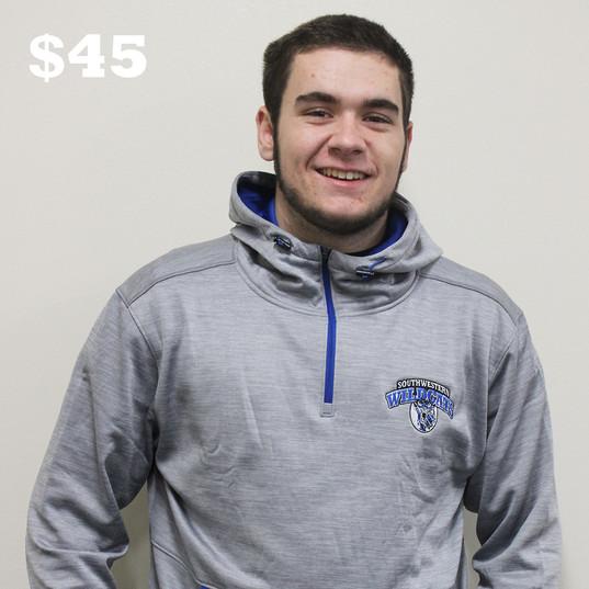 Quarter-zip dri-fit hoodie