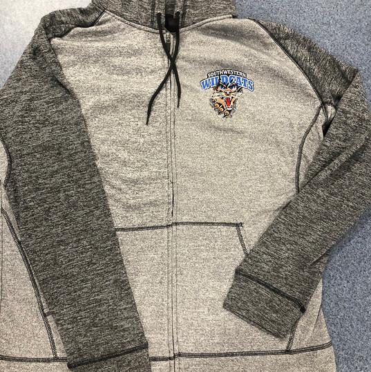 NEW! Full-zip hoodie