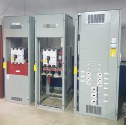 New electric switch gear