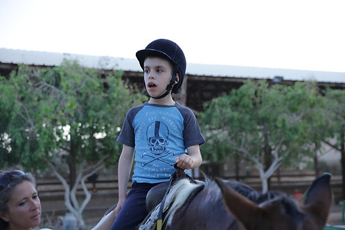 Donate a year of riding lessons