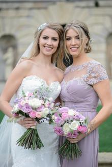 Bride and sister Tara Florence Photography