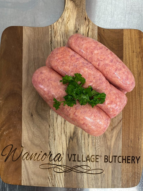 Traditional Thick Beef Sausages