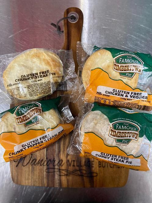 Timbertown Pies (Gluten Free)
