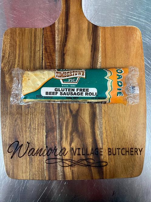 Timbertown Beef Sausage roll (Gluten free)