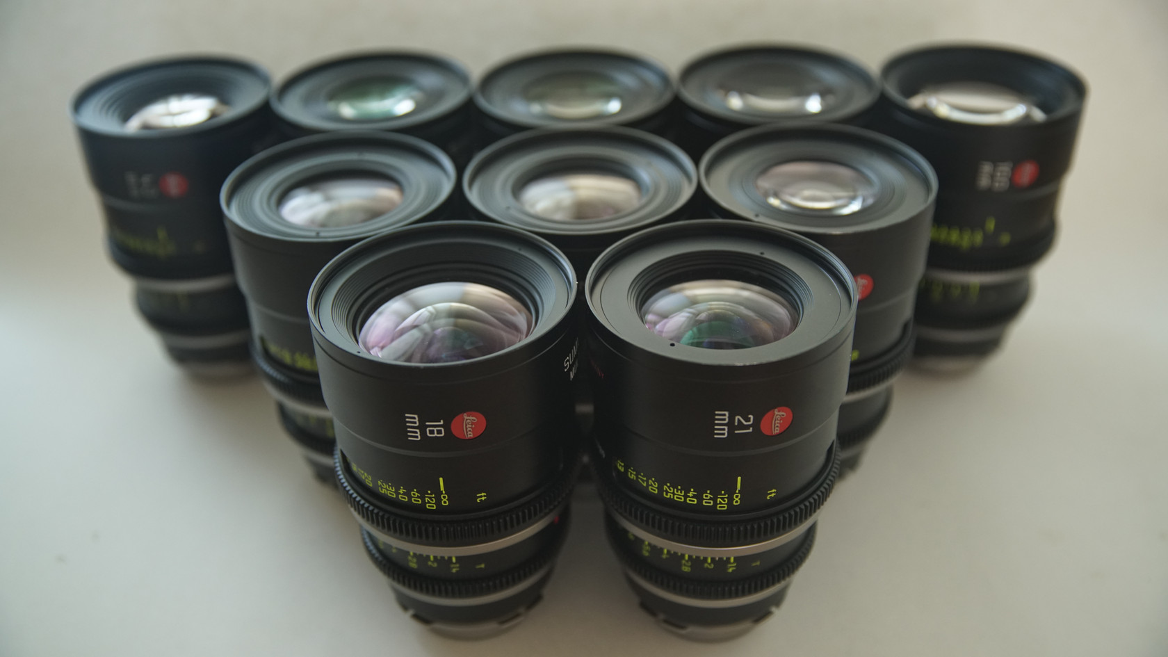 Leica Summilux C Lens Set
