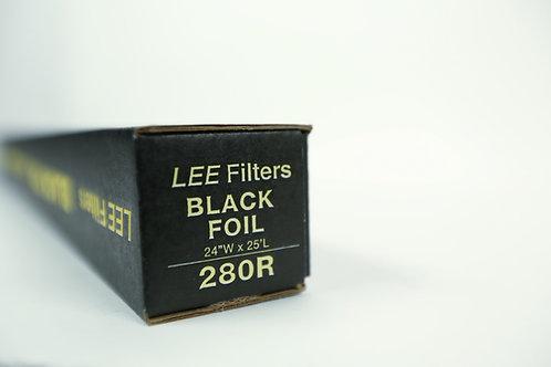 """Lee Filters - Black Foil (24"""" x 25')"""
