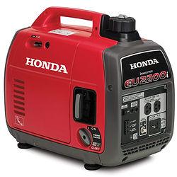 2200 watts, 18.3A, 120V AC Honda Generator - EU 2200i
