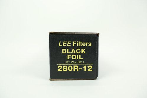 """Lee Filters - Black Foil (12"""" x 50')"""