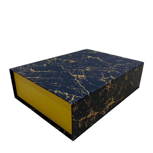 Rigid Magnetic Box with Marble Print (Pack of 5)