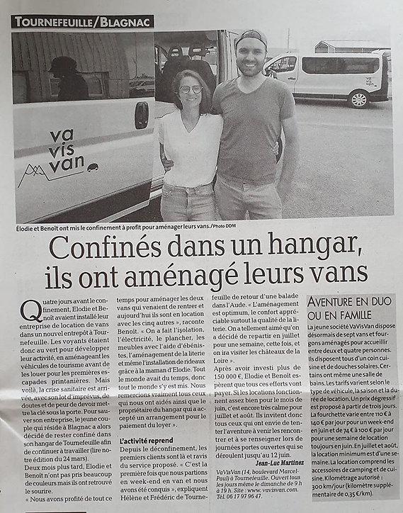 ARTICLE LA DEPECHE 05062020.jpg