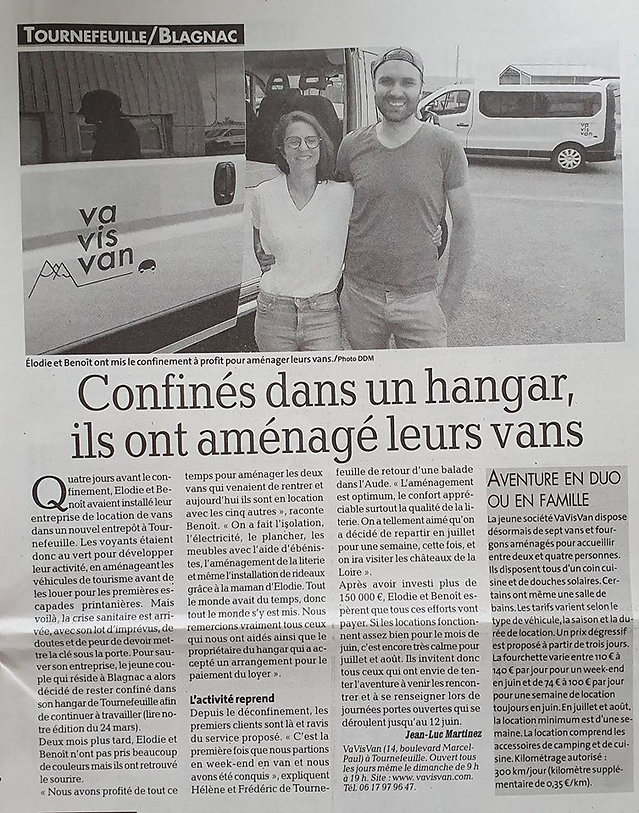 ARTICLE LA DEPECHE 05062020.jpg