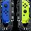 Thumbnail: Nintendo Blue/ Neon Yellow Joy-Con (L-R) - Switch