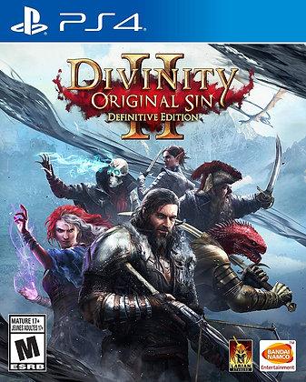 Divinity: Original Sin 2 Definitive Edition - PlayStation 4