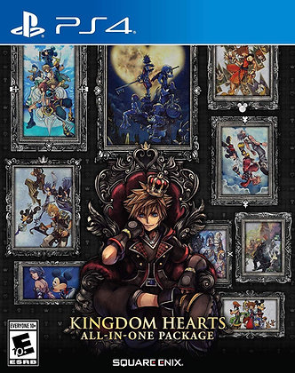 Kingdom Hearts All-In-One Package (PS4) - PlayStation 4