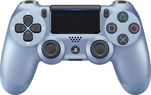DualShock 4 Wireless Controller for PlayStation 4 (PS4) - Titanium Blue