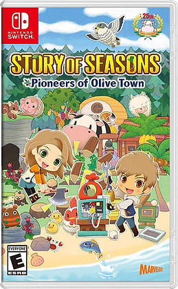 Story of Seasons: Pioneers of Olive Town (NSW) - Nintendo Switch
