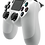 Thumbnail: DualShock 4 Wireless Controller for PlayStation 4 (PS4) - Glacier White