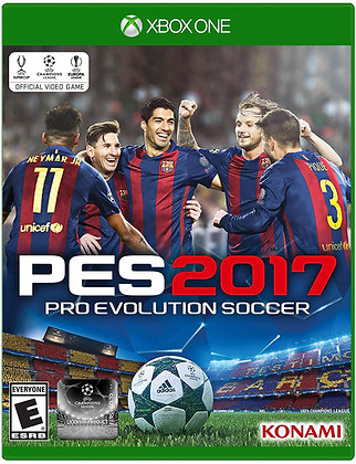 Pro Evolution Soccer 2017 - Xbox One