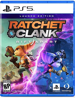 Ratchet & Clank: Rift Apart Launch Edition (PS5) - Playstation 5