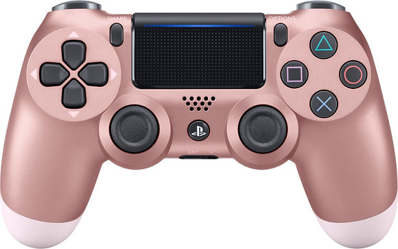 DualShock 4 Wireless Controller for PlayStation 4 (PS4) - Rose Gold