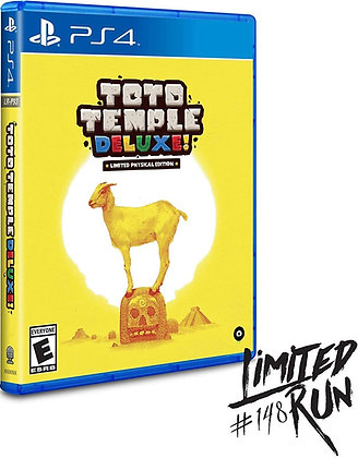 Toto Temple Deluxe! - PlayStation 4