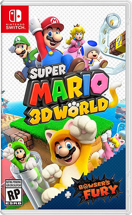 Super Mario 3D World + Bowser's Fury (NSW) - Nintendo Switch