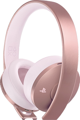 PlayStation Gold Wireless Headset Rose Gold (PS4) - PlayStation 4