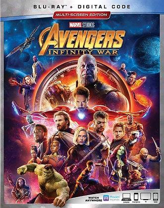 Marvel Avengers Infinity War- Bluray